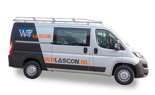 Busbelettering WB Lascon