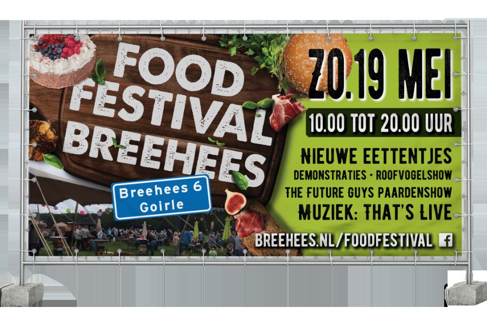 Bouwhekbanner Food Festival
