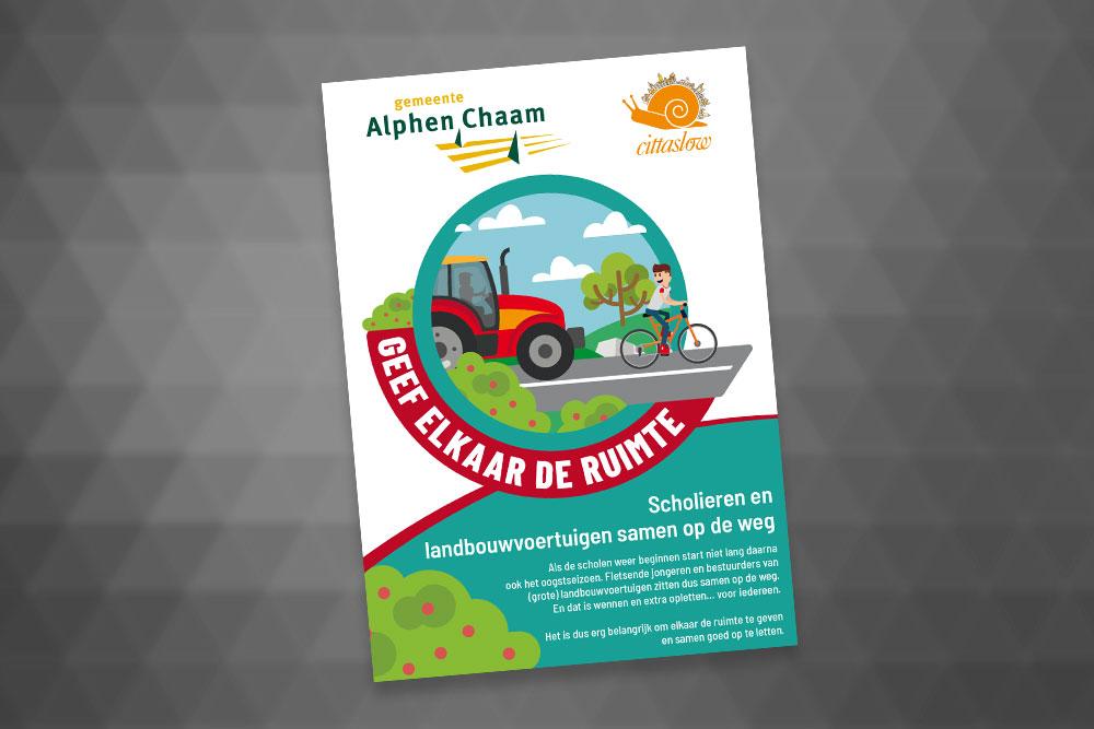 Poster Gemeente Alphen-Chaam